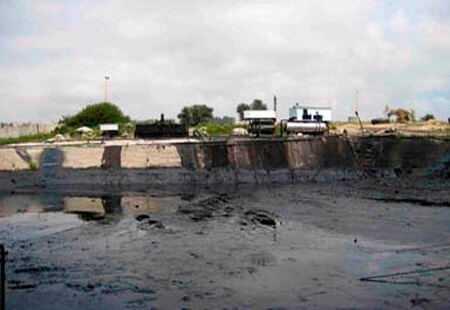 Утилизация гальванических нефтяных буровых шламов, шлаков